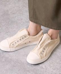 防潑水 帆布懶人鞋
