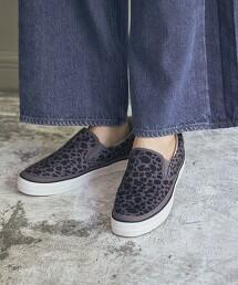 豹紋懶人鞋