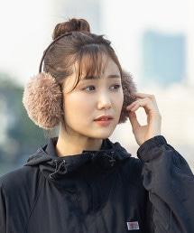 仿皮草耳罩(環保皮草)