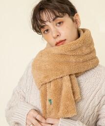 毛圈布圍巾#