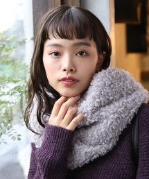 絨毛圍巾(仿皮毛)