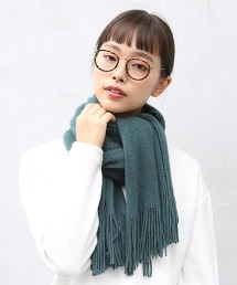 素色披肩圍巾 OUTLET商品