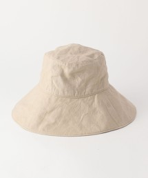 法國亞麻寬簷帽