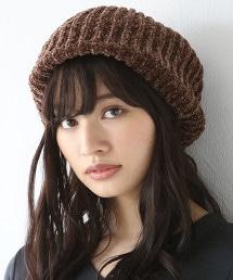 毛線針織貝雷帽(針織帽)