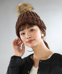 【2WAY】毛線小流蘇針織海軍帽