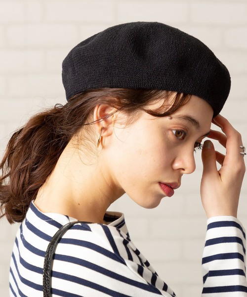 保暖材質貝雷帽