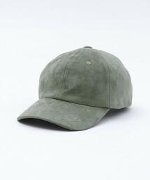 仿麂皮棒球帽
