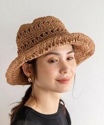 蕾絲針織帽