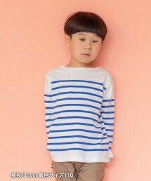 【coen KIDS/JUNIOR】合身天竺棉T恤