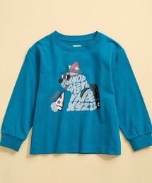 【coen KIDS】動物印花長袖T恤