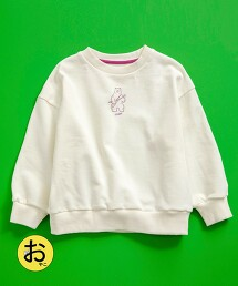 【coen KIDS】coen × 金安 亮 插畫裏毛圓領厚棉TEE