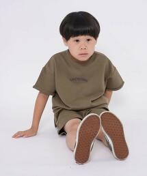 【coen KIDS】微裡毛 成套上衣短褲