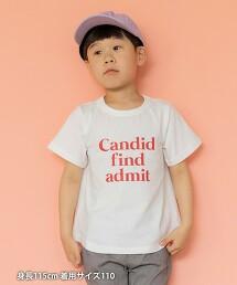 【coen KIDS/JUNIOR】弧形下擺 印花T恤