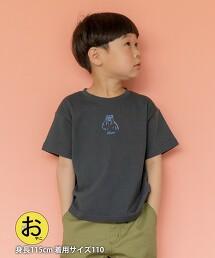 【coen KIDS/JUNIOR】coen熊印花T恤