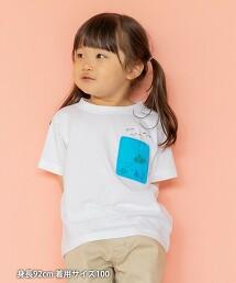 【coen KIDS/JUNIOR】PVC口袋T恤