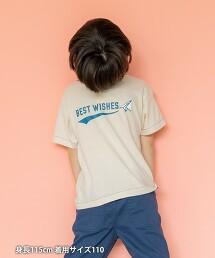 【coen KIDS】配色領口袋T恤