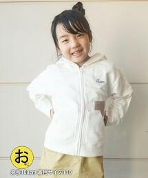 【coen KIDS/JUNIOR】coen LOGO刺繡連帽外套