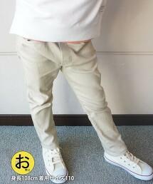 【coen KIDS/JUNIOR】彈性輕便褲合身長褲(2021SS)