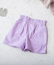 【coen KIDS/JUNIOR】褶邊短褲