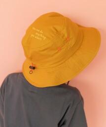 【coen KIDS】帽頂刺繡水桶帽
