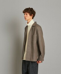 <Steven Alan> T/W DOBBY BOX CAMP COLLAR SHIRT-BOLD/襯衫
