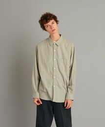 <Steven Alan> BTR NEL REGULAR COLLAR SHIRT-LOOSE/標準領襯衫