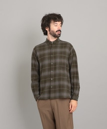 <Steven Alan> 21/ NEL CHECK SINGLE NEEDLE SHIRT-BOLD/シャツ