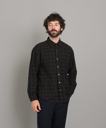 <Steven Alan> 21/ NEL CHECK REGULAR COLLAR SHIRT-NERD/襯衫