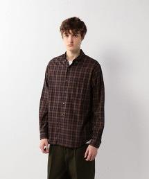 <Steven Alan>VIYELLA CHECK SINGLE NEEDLE SHIRT/襯衫
