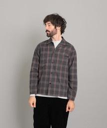 <Steven Alan> 60/2 SHAGGY BOX CAMP COLLAR SHIRT-BOLD/襯衫