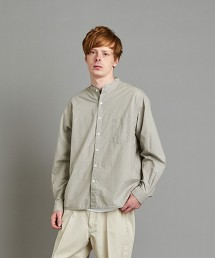 <Steven Alan> BUTTER-G BOX BAND COLLAR SHIRT-BOLD/シャツ