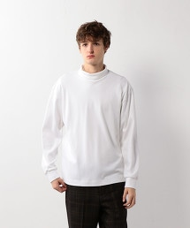 <Steven Alan>SMOOTH LOOSE TURTLE NECK LONG SLEEVE/T恤