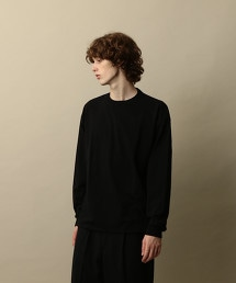 <Steven Alan>LIGHT HI-DENS CREW NECK LONG SLEEVE-BOLD/T恤