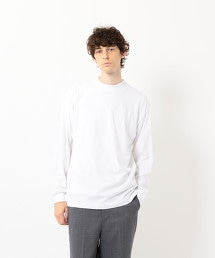 <Steven Alan> LIGHT TRKY LOOSE MOCK NECK LONG SLEEVES/上衣