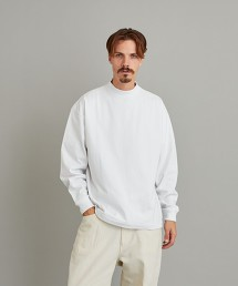 <Steven Alan> TRKY MOCK NECK LONG SLEEVES-BOLD/ T恤 日本製