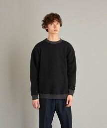 <Steven Alan> 2TONE TUBE CREW NECK SWEAT/衛衣 日本製
