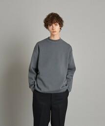 <Steven Alan> MILANO RIB MOCK NECK KNIT-LOOSE/針織衫 日本製