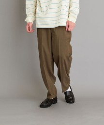 <Steven Alan> PIN/HD SUPER BAGGY TAPERED HALF EASY PANTS-JUST/休閒長褲