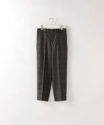 <Steven Alan> MIX CHECK SUPER BAGGY TAPERED HALF EASY PANTS-JUST/長褲