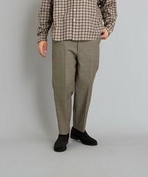 <Steven Alan> TW DOBBY SUPER BAGGY TAPERED HALF EASY PANTS-JUST/褲子