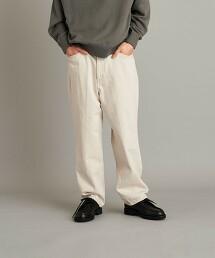 <Steven Alan> 13.5oz DENIM 5P BAGGY TAPERED PANTS/牛仔褲 日本製