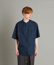 <Steven Alan> THOMAS MASON BAND COLLAR LOOSE SHORT SLEEVE SHIRT/立領襯衫 日本製