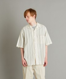 <Steven Alan> C/CU ITALIAN COLLAR LOOSE SHIRT/襯衫 日本製