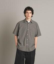 <Steven Alan> MONPE REGULAR COLLAR SHORT SLEEVE SHIRT BOX-LOOSE/襯衫 日本製
