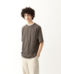 <Steven Alan> DRY CREW NECK RAGLAN SHORT SLEEVE TEE-BOX RAGLAN/T恤