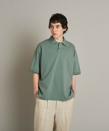 <Steven Alan> SUVIN SMOOTH LOOSE POLOSHIRT/POLO衫 日本製