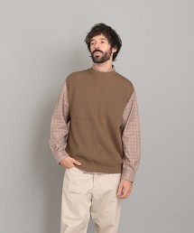 <Steven Alan> GASS COTTON CREW NECK KNIT VEST/針織背心