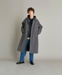 <Steven Alan> NYLON TSR COAT-BOLD/巴爾瑪肯大衣