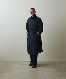 <Steven Alan> NYLON WEATHER USN TRENCH COAT/戰壕風衣