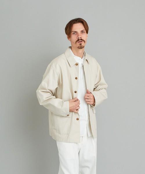 <Steven Alan> TWIST TWILL REGULAR COLLAR COVERALL/工作風夾克